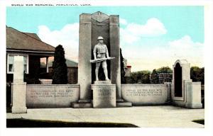 Connecticut Pawcatuck  World War I memorial