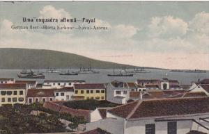 Battleships German Fleet Horta Harbour Fayai Azores