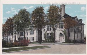 COLUMBUS, Wisconsin, 1910-1920s; Public Square Buildings
