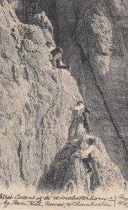 1st Assent of the Winchesterhorn , Switzerland , 1906