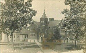 Chillicothe Illinois Public Schools C-1910 RPPC Photo Postcard 21-6225