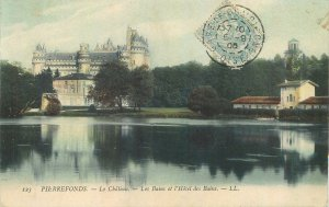 Postcard France Pierrefonds chateau