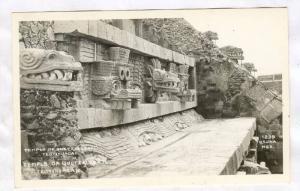 RP, Temple of de Quetzalcoatl , Mexico , 30-40s
