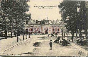 Old Postcard Neris les Bains New Establishment