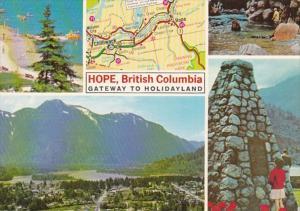 Canada British Columbia Hope Multi View