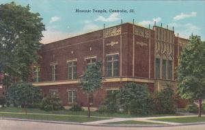 Exterior,  Masonic Temple,  Centralia,  Illinois,   30-40s