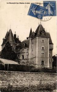 CPA St-Bonnet les Oules Le Chateau (687435)