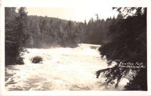 Oakland Maryland Swallow Falls Real Photo Antique Postcard J54428