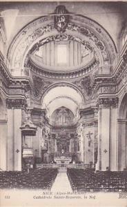 France Nice Cathedrale Sainte-Reparate la Nef
