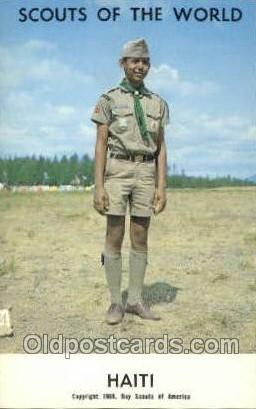 Haiti Boy Scouts of America, Scouting Postcard, Post Cards, Copyright 1968  H...