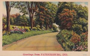 Indiana Greetings From Patricksburg