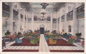 Oklahoma Tulsa The Mayo Hotel Lobby