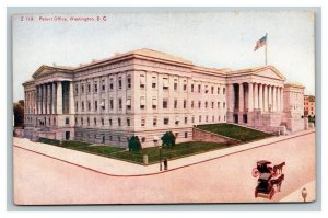 Vintage 1910's Postcard Panoramic View Patent Office Building Washington DC