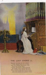 Bamforth Religious The Lost Chord No 1 1910