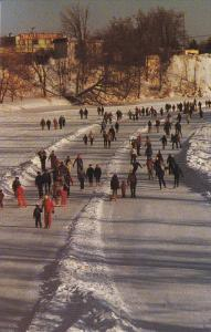 Ice Skating , JOLIETTE , Quebec , Canada , 1988