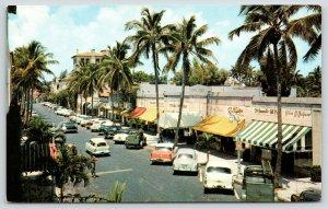 Palm Beach FL~Worth Avenue North Arcade Shopping Mall~Halpern~McDowell's~1950s