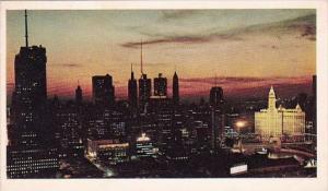 Illinois Chicago Skyline
