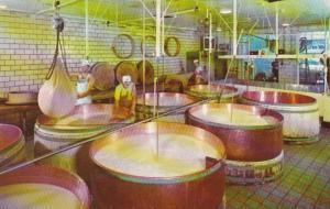 Ohio Wilmot The Alpine Cheese Factory 1962