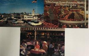 Lot 3 Farmers Market at Los Angeles, California Vintage Postcard