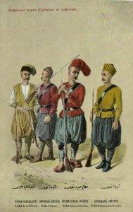 turkey, Turkish Types, Military, Police, Merchants (1910s) M. Fruchtermann 109
