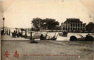 CPA AK INDOCHINA Saigon Entree de l'Arroyo de Cholon VIETNAM (956613)