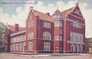 Maennerchor Club Indianapolis Indiana