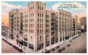 California Los Angeles ,J.R.Robinson Company , 7th and Grand Avenue