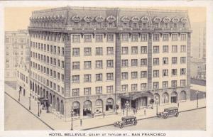 Hotel Bellevue, San Francisco, California, 1900-1910s