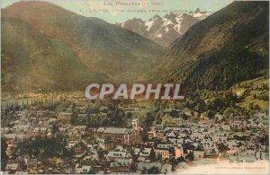 Old Postcard Luchon Pyrenees Vue Generale