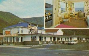 Mont St. Pierre ,GASPE, Quebec, 1970 ; Motel-Restaurant Au Delice