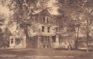 Ohio Oberlin Lord Cottage-Albertype