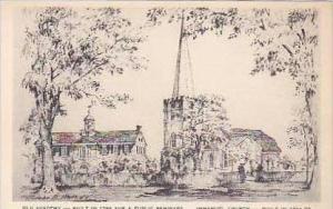 Delaware New Castle Old Academy Built in 1798 A Public Seminary Immauel Churc...