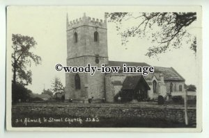 cu2063 - St. Laurence Church, in Adwick-le-Street, Yorks - Postcard