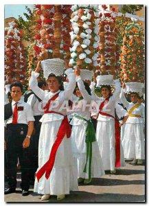 Postcard Modern Tomar Harvest Thanksgiving Festival Known As Festa dos Tabule...