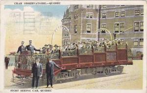 Sight seeing car, Quebec, Canada, PU-1922