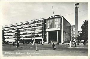 RPPC of Coolsingel Beursgebouw Stadsdriehoek Rotterdam Netherlands