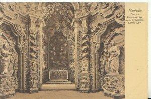 Italy Postcard -  Monreale - Duomo Cappella Del S.S.Crocifisso Secolo - TZ10482