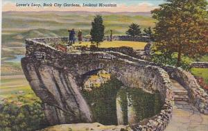 Tennessee Chattanooga Lookout Mountain Lover's Leap Rock City Gardens