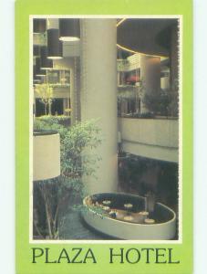 Unused 1980's PLAZA HOTEL Atlanta Georgia GA hr6725