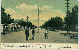 ARGENTINA -  Vintage Postcard - BUENOS AIRES: Belgrano  1906