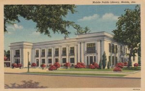MOBILE , Alabama, 1930-40s ; Library