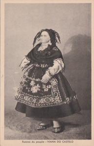 Portugal Costumes Viana Do Castelo Femme du Peuples Paris Exposition 1937