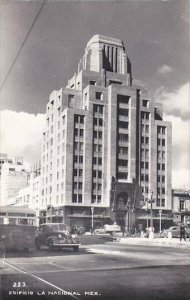 Mexico Edificio La Nacional Real Photo RPPC