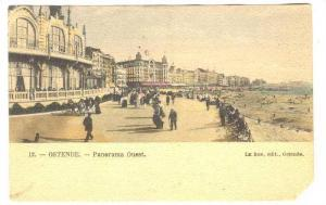 OSTENDE, Panorama Ouest, Bird´s Eye View, West Flanders, Belgium, 00-10s