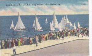 Florida St Petersburg Small Sailboat Races 1958