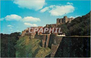Postcard Modern Dover Castle Ramparts