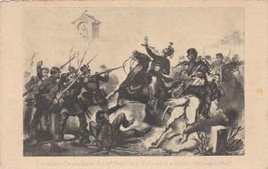 Italian Calvary Attack ; Il soldato Castellaro del 4o Fanta fra Valeggio e Go...