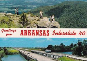 Greetings From Arkansas Interstate 40 Arkansas