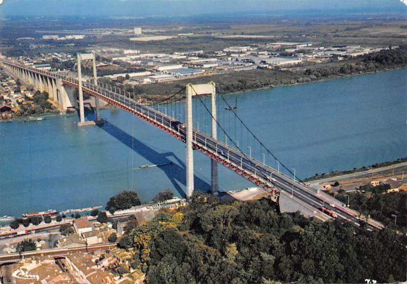 Carte Horizon Bordeaux.France Bordeaux Gironde Vue Aerienne Le Pont D Aquitaine