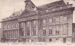 France Langres L'Hotel de Ville